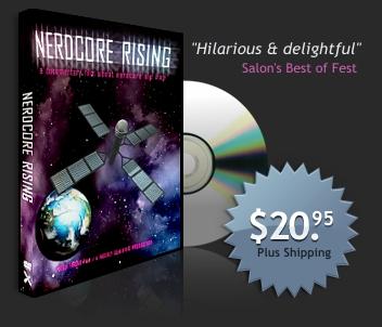 Nerdcore Rising DVD